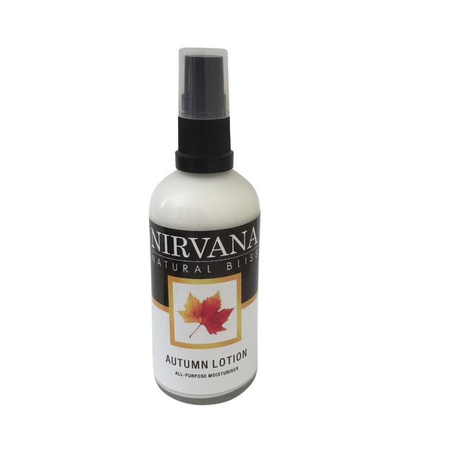 Autumn Lotion - Nirvana Natural Bliss Luxury Vegan Skincare & Health Co.
