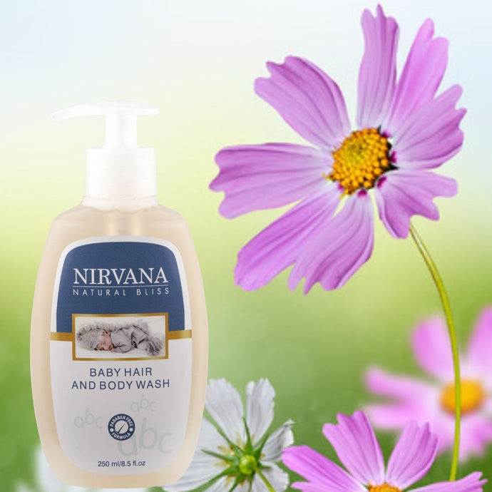 Baby Hair & Body Wash - Nirvana Natural Bliss Luxury Vegan Skincare & Health Co.