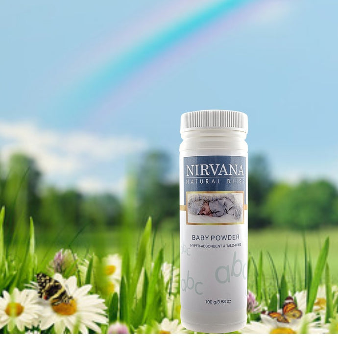 Baby Powder - Nirvana Natural Bliss Luxury Vegan Skincare & Health Co.