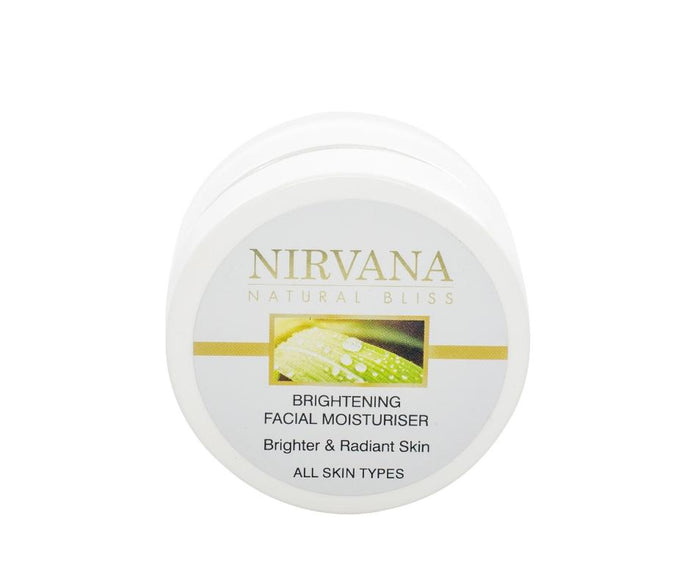 Brightening Facial Moisturiser - Nirvana Natural Bliss Luxury Vegan Skincare & Health Co.