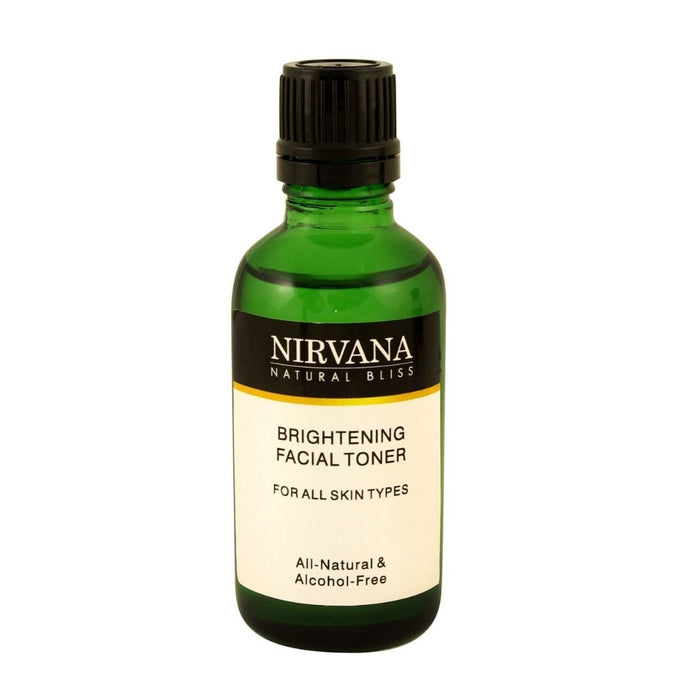 Brightening Toner - Nirvana Natural Bliss Luxury Vegan Skincare & Health Co.