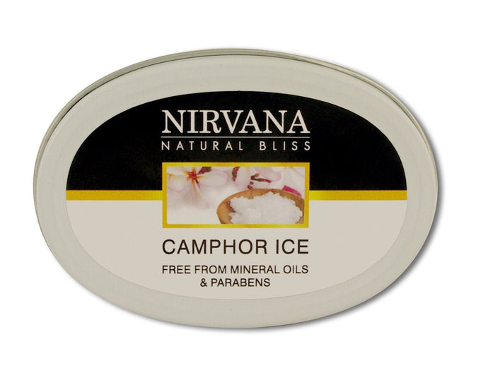 Camphor Ice - Nirvana Natural Bliss Luxury Vegan Skincare & Health Co.