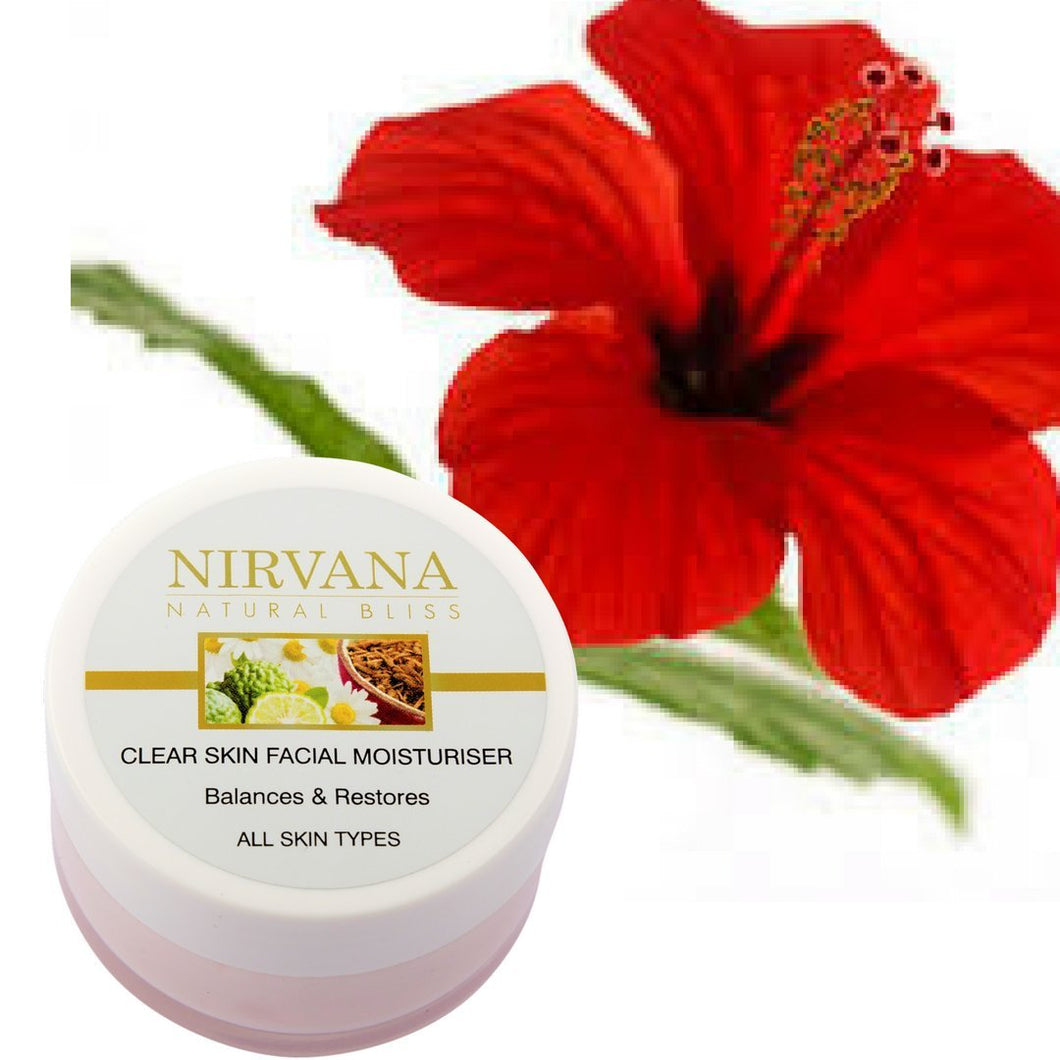 Facial Moisturiser for All Skin Types: Balances and Restores - Nirvana Natural Bliss Luxury Vegan Skincare & Health Co.