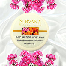 Facial Moisturiser For Dry Skin: Ultra-Nourishing with Silk - Nirvana Natural Bliss Luxury Vegan Skincare & Health Co.