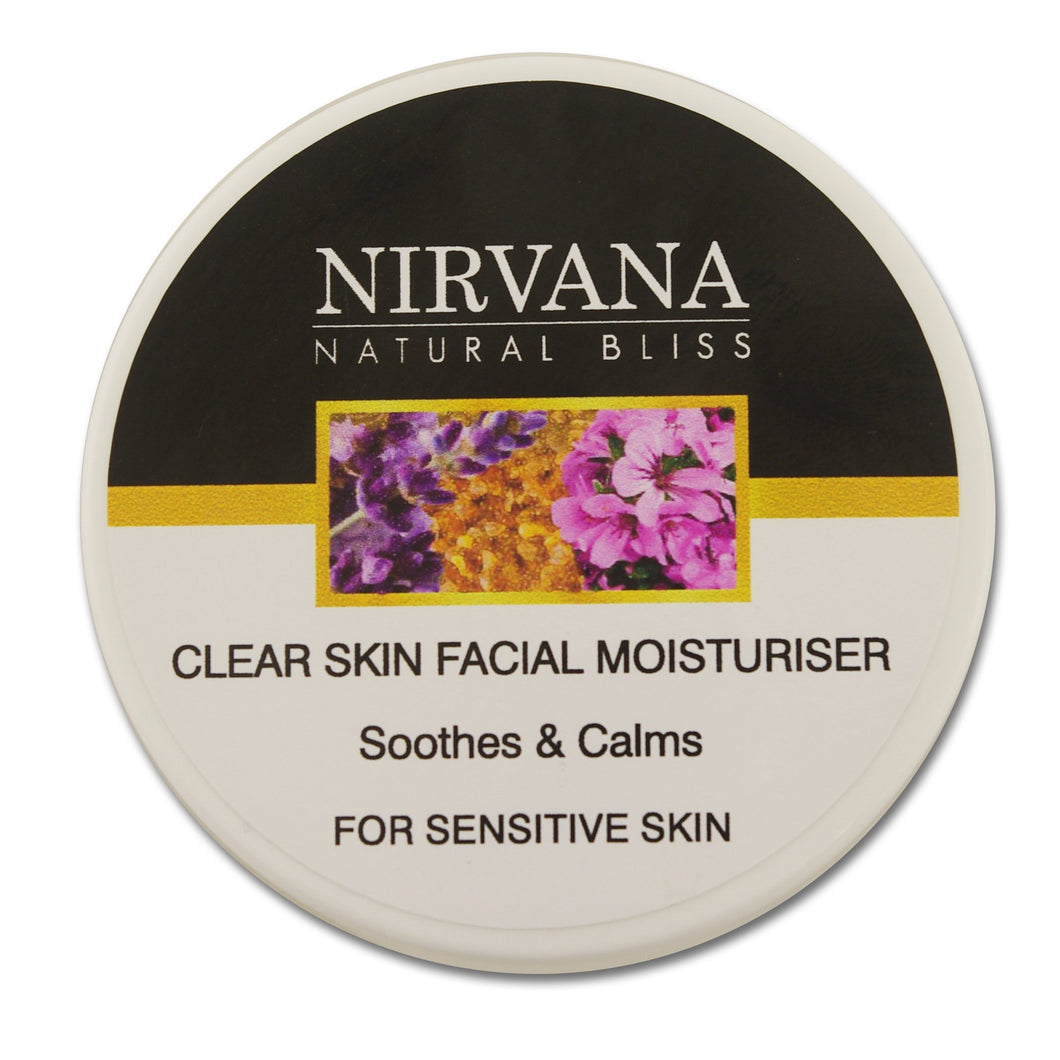 Facial Moisturiser for Men: Sensitive Skin - Nirvana Natural Bliss Luxury Vegan Skincare & Health Co.