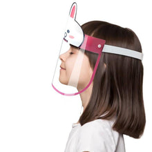 Kids Face Shield (Cute Bunny) - Nirvana Natural Bliss Luxury Vegan Skincare & Health Co.