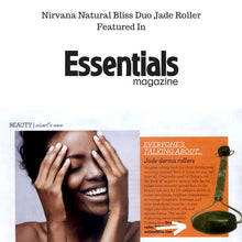 Nirvana Natural Bliss Dual Jade Facial Roller - Nirvana Natural Bliss Luxury Vegan Skincare & Health Co.