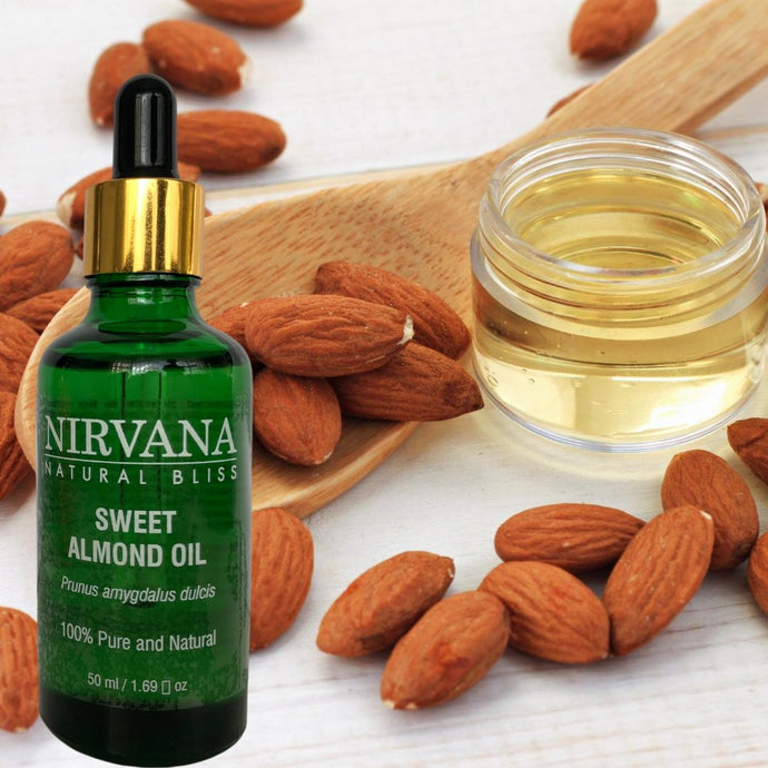 Nirvana Natural Bliss Sweet Almond Oil - Nirvana Natural Bliss Luxury Vegan Skincare & Health Co.