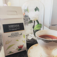 Organic Rooibos Peppermint Tea - Nirvana Natural Bliss Luxury Vegan Skincare & Health Co.
