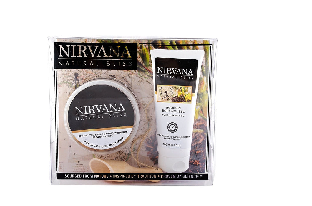 Rejuvenating Rooibos Pamper Set - Nirvana Natural Bliss Luxury Vegan Skincare & Health Co.