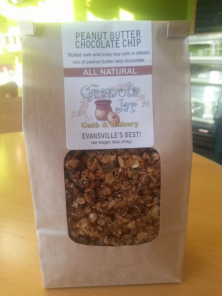 Peanut Butter Chocolate Chip Granola (1lb bag)