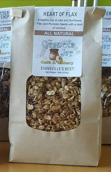 Heart of Flax Granola (1lb bag)