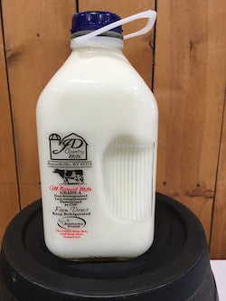1/2 Gallon 2% Milk (I do not have a bottle to return)