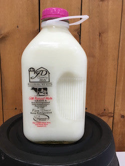 1/2 Gallon Skim Milk (I have a bottle to return)
