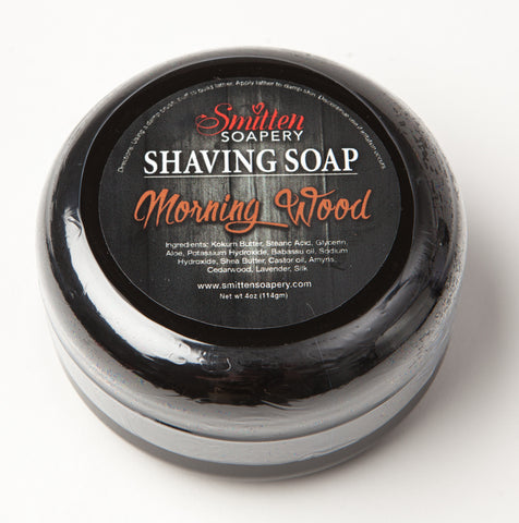 Morningwood Luxury Shave soap