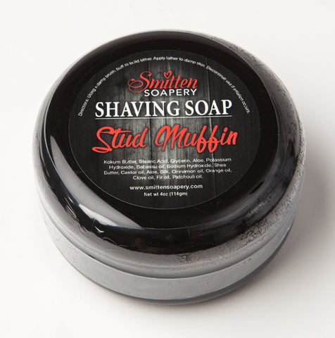Stud Muffin Luxury Shave soap