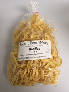 Thick Amish Egg Noodles (3/4lb)