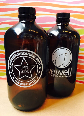 Kombucha Howler (32 ounce) - Blueberry Oolong