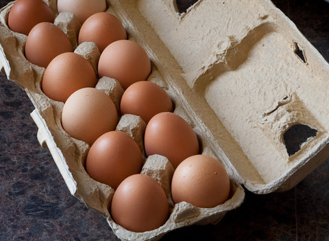 Fresh Non-GMO Brown Eggs