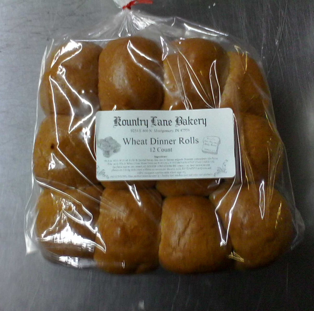 Wheat Dinner Rolls (1 dozen)