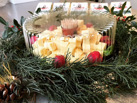 Organic Raw Milk Cheese Tray (40-50 servings)