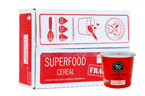 Apple Cinnamon & Superseeds Superfood Cereal (6 pack, Save 10%)