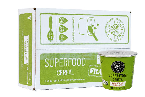Maca Double Chocolate Superfood Cereal (6 Pack, Save 10%)