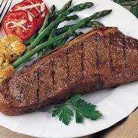 100% Grassfed  Boneless Sirloin Steak (around .9 lbs, 2 per package)