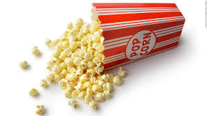 Butter Flavored Movie Popcorn