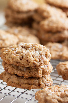 Salted Caramel Oatmeal Cookie