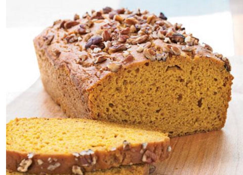 Pecan Pumpkin Bread 24 OZ (672 g)