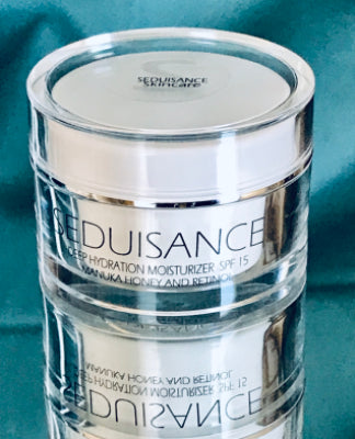 Seduisance Deep Hydration Day Moisturizer with  Manuka Honey and Retinol . Net wt. 1.7 oz (50 ml)