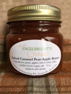 Salted Caramel Pear-Apple Butter