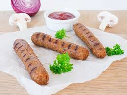 Earth's Prime Vegan Oyster Mushroom Sausages