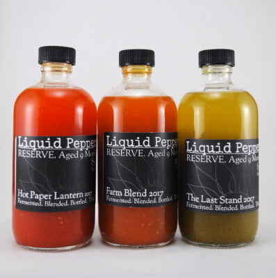 Liquid Peppers RESERVE Hot Sauce Gift Set