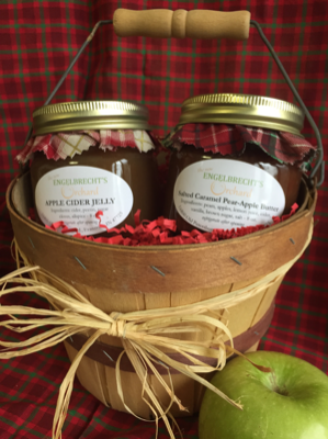 Two Jar Gift Basket (A)
