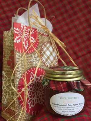 Salted Caramel Pear-Apple Butter Gift Bag