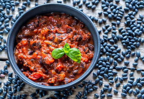 Earth's Prime Vegan Mushroom Chili 32 oz.