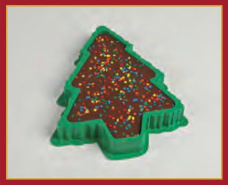 Fudge Filled Christmas Tree