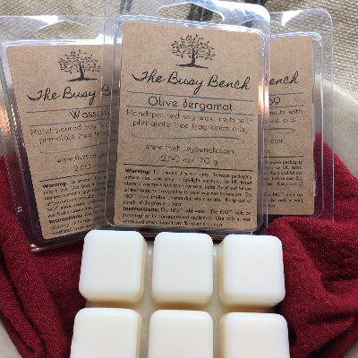 Wax Melts - Olive Bergamot
