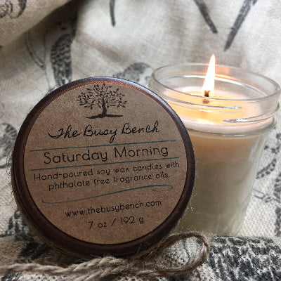 7 oz Soy Wax Candle - Saturday Morning