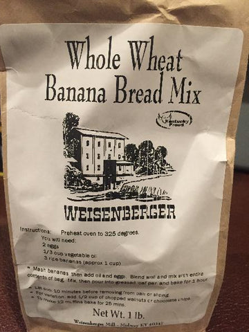 Whole Wheat Banana Bread Mix