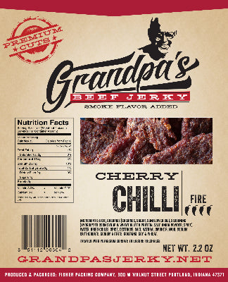 Beef Jerky -- Cherry Chili (2.2 OZ)