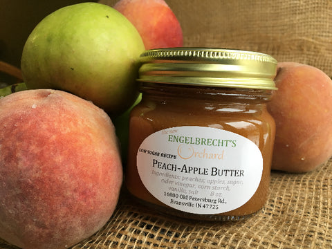 Peach-Apple Butter - 1/2 pint