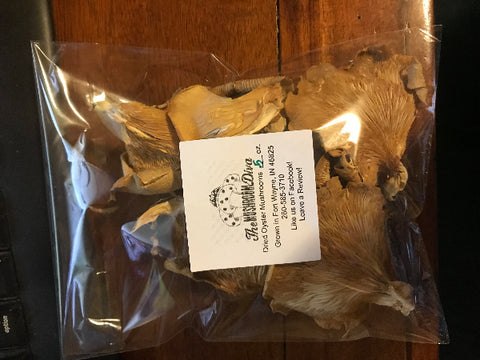 .5 oz Dried Oyster Mushrooms