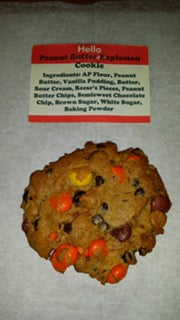 Peanut Butter Explosion Cookie