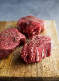 100% Grass Fed Filet Mignon Steak