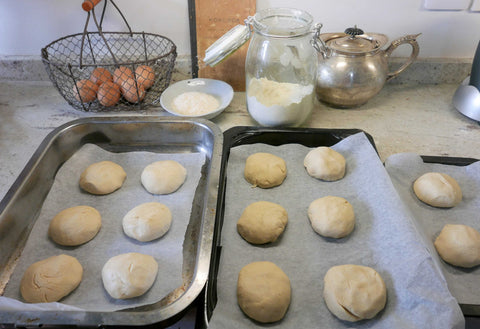 dough before proving