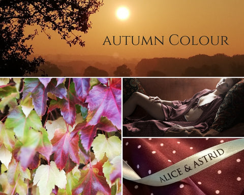 alice & astrid autumn colour inspiration