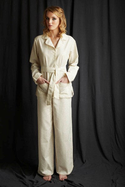 Pj's brushed cotton cosy nightwear Alice & Astrid